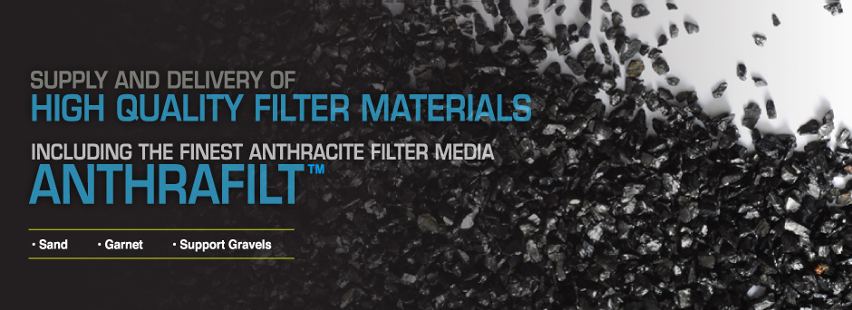 Supply and delivery of high quality filter materials